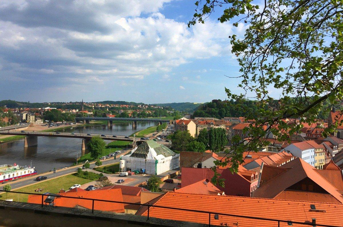 Stadtpanorama Meissen