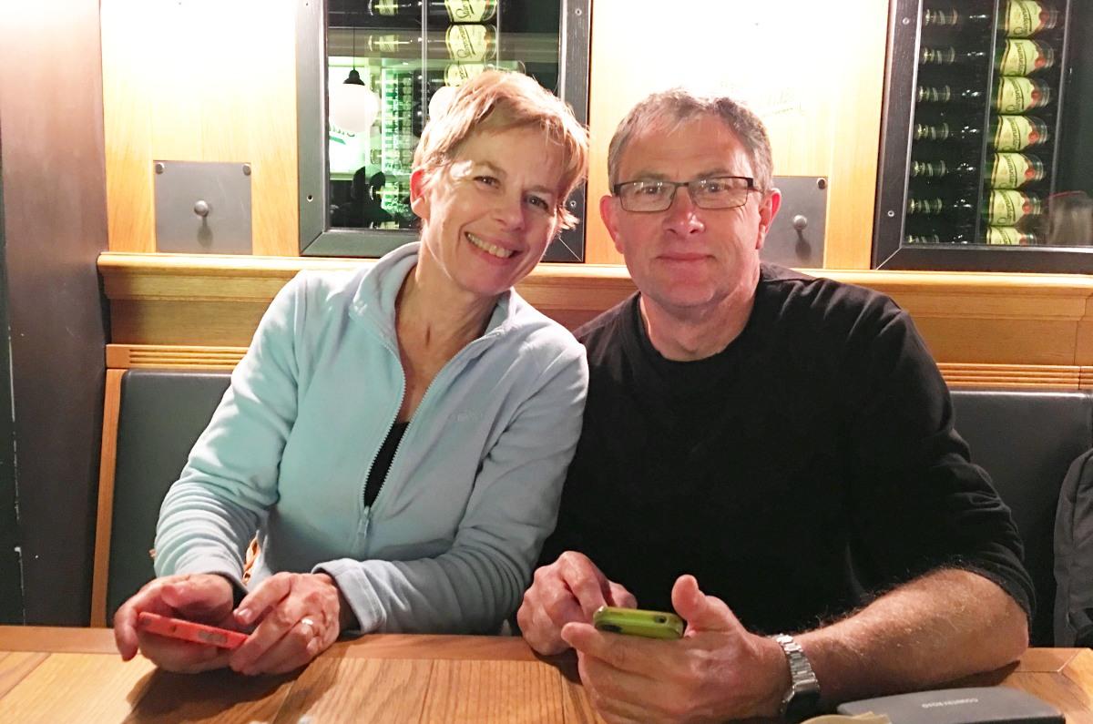 Stephanie and Mark