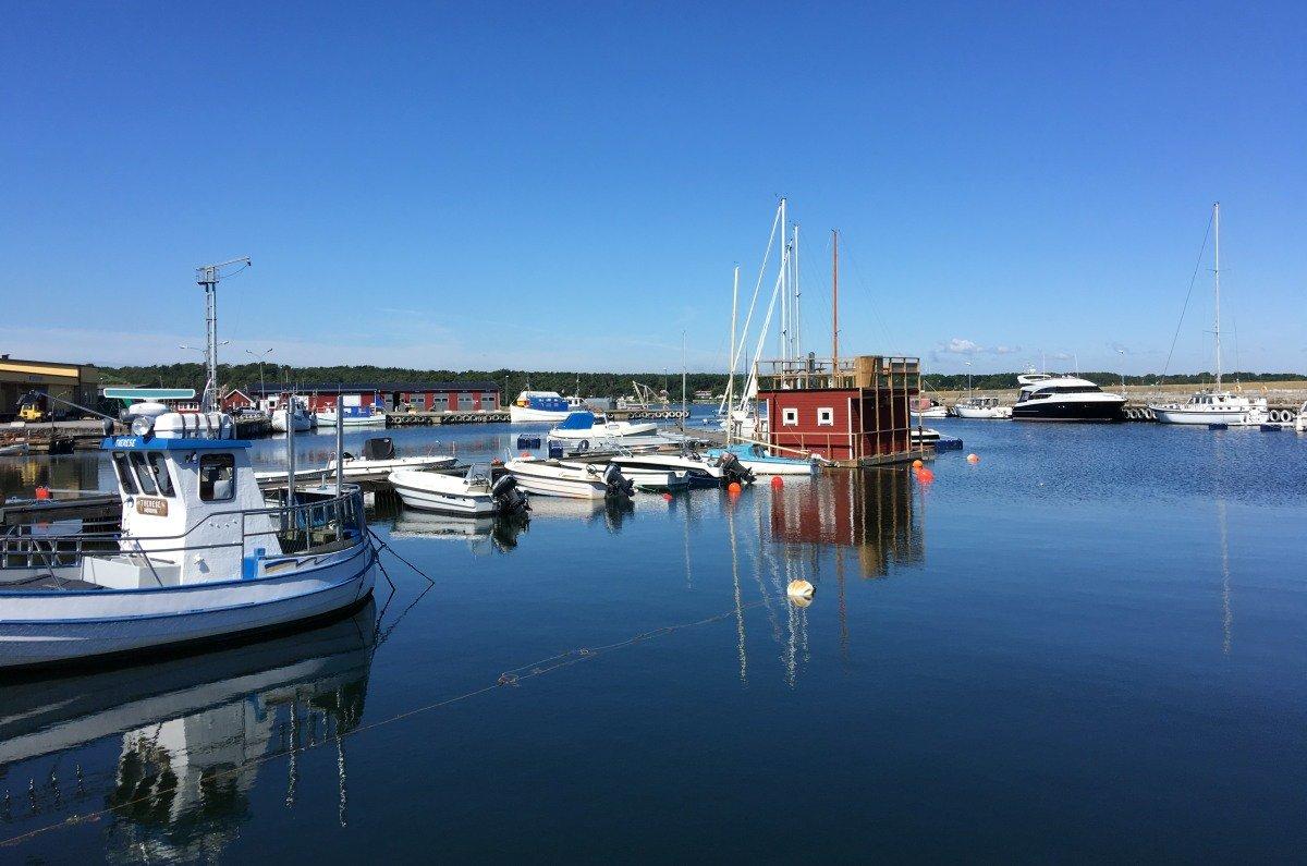 Hörvik Hafen