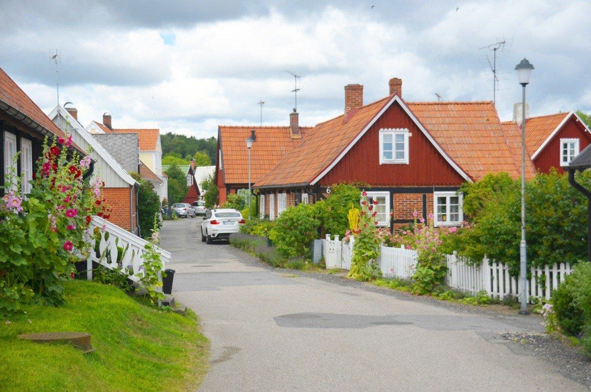 Hübsche Hauser in Kivik