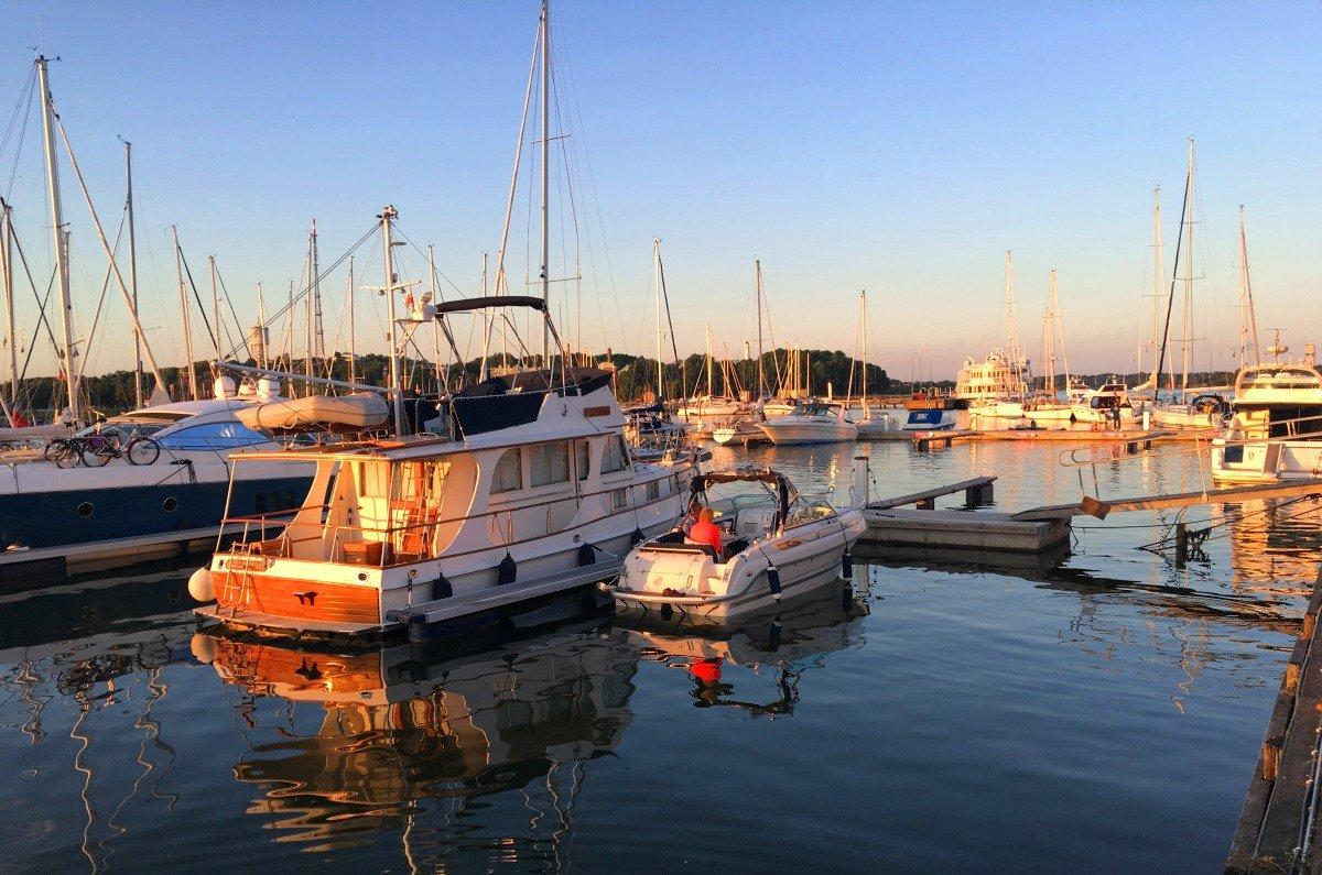 Karlskrona Yachthafen
