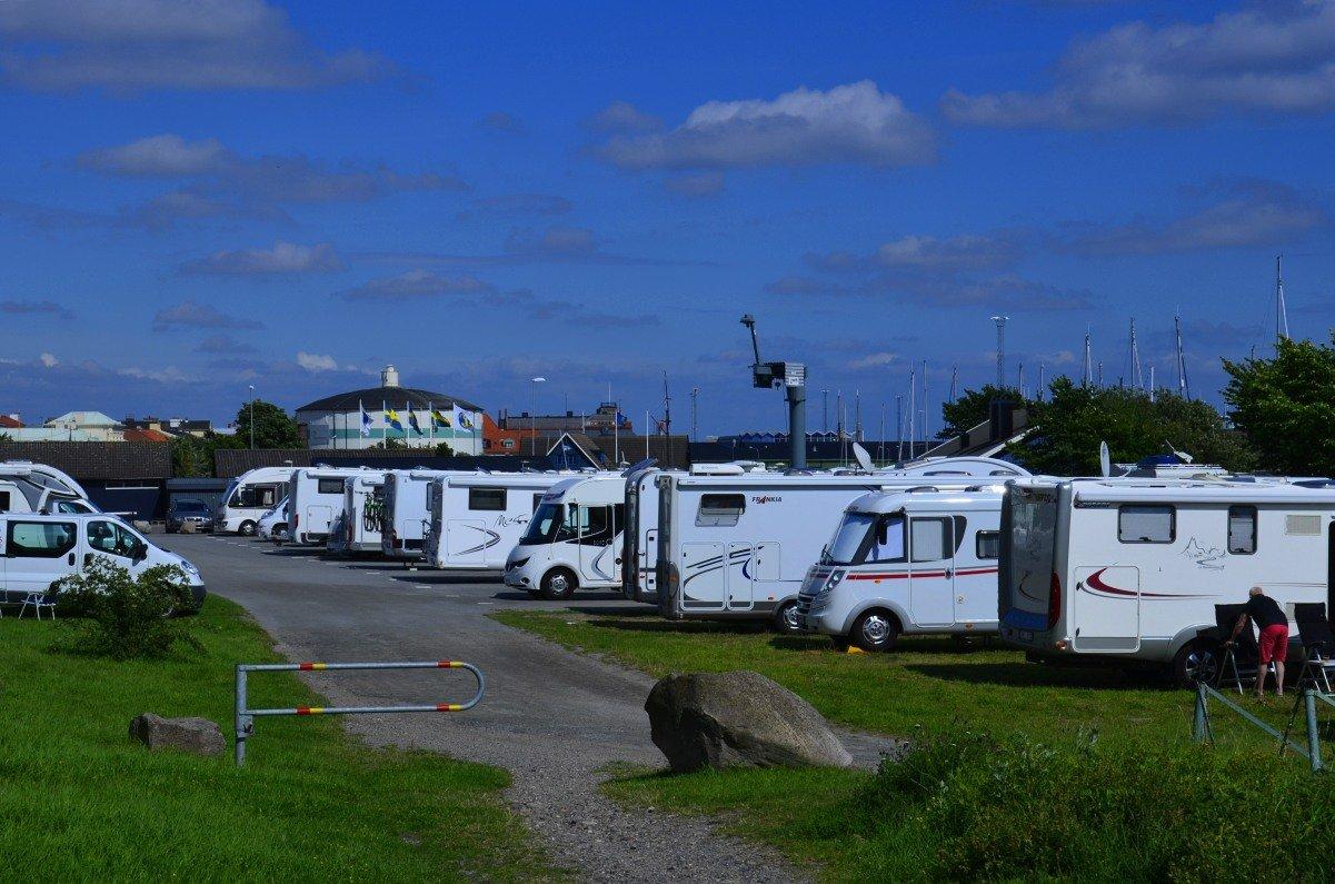 Stellplatz Ystad Hafen