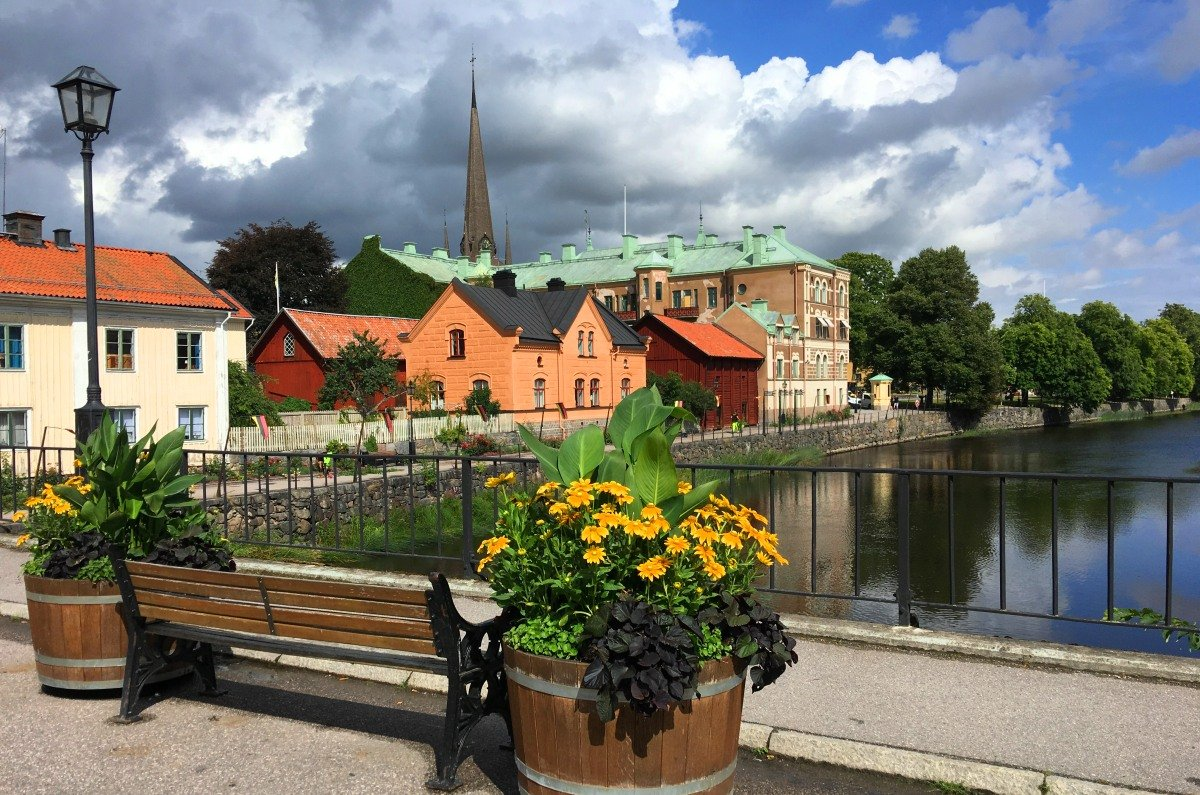 Arboga Stadtbild