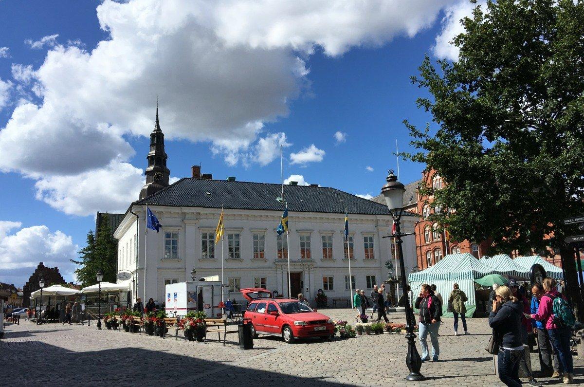 Der große Platz in Ystad