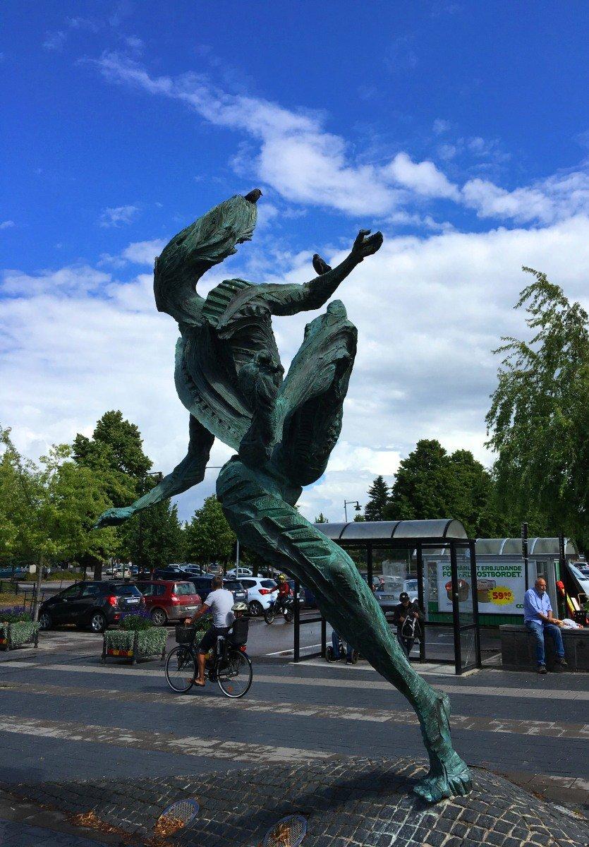 Dynamische Skulptur in Arboga