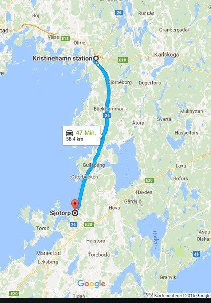 Kristinehamn - Sjötorp