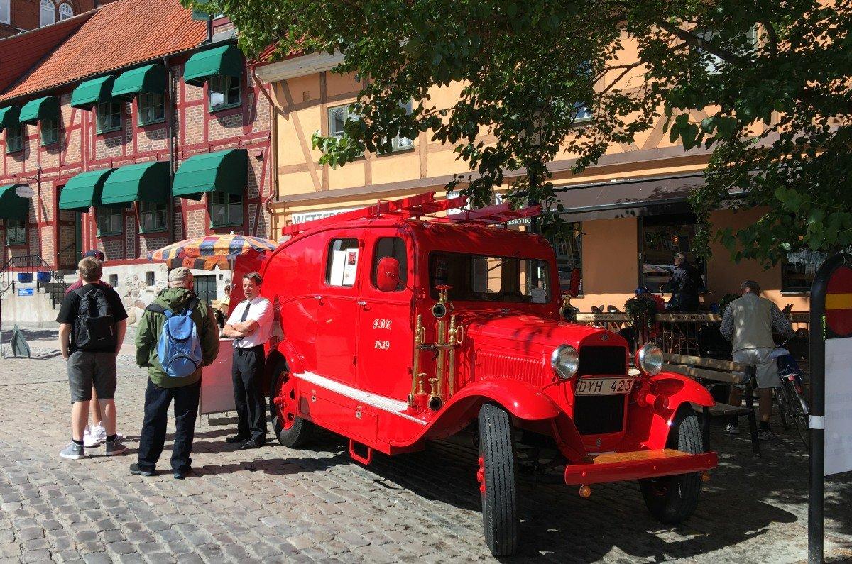 Museums Feuerwehrfahrzeug