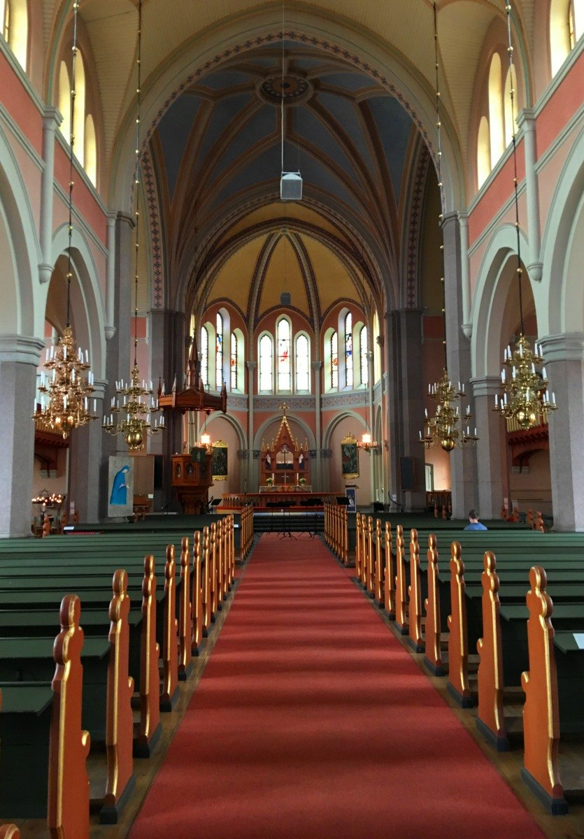 St.Petri Innenraum