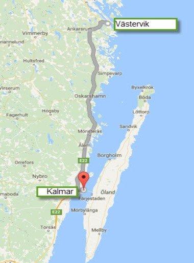 Västervik - Kalmar Svinö - 141 km