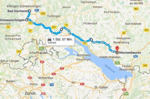 Bad Dürrheim - Meckenbeuren