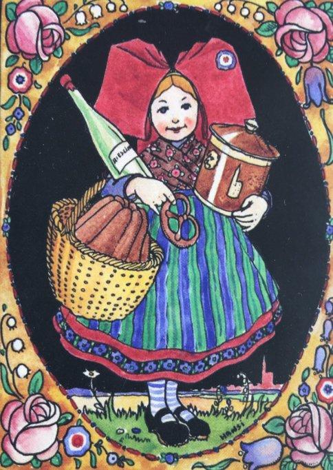 Elsass Mädchen von Hansi