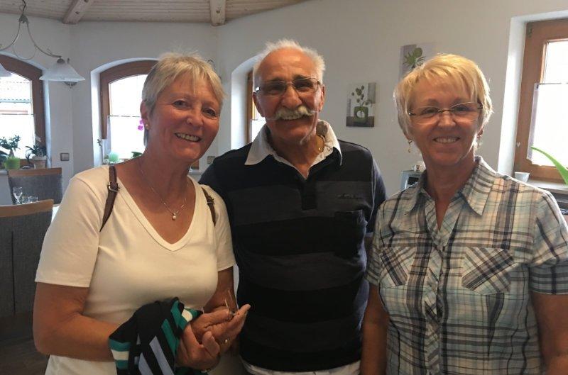 Marianne, Angelo und Anne
