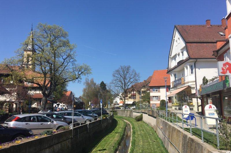 Stadtbild Bad Dürrheim