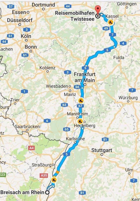 Breisach - Bad Arolsen