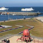 Helgoland Hafen Panorama