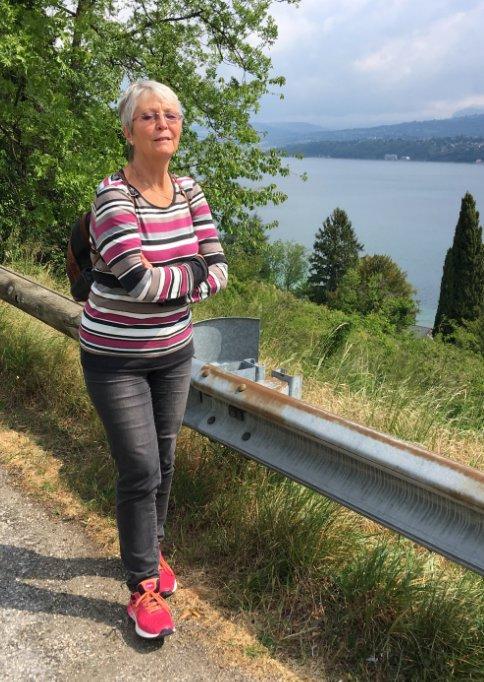 Kurze Pause am Lac du Bourget