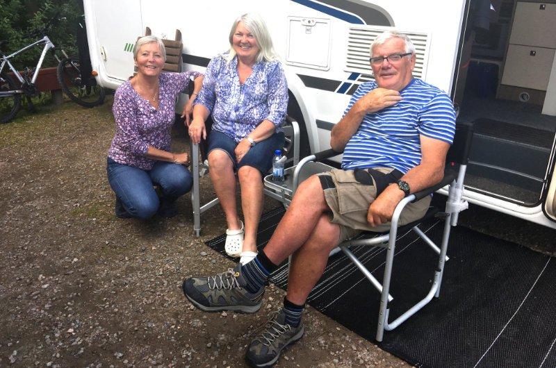 Anne mit Frances und Stephen