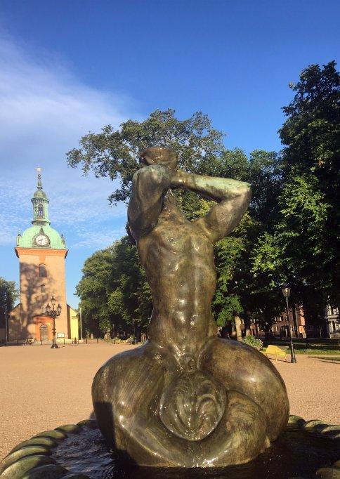 Durstige Statue