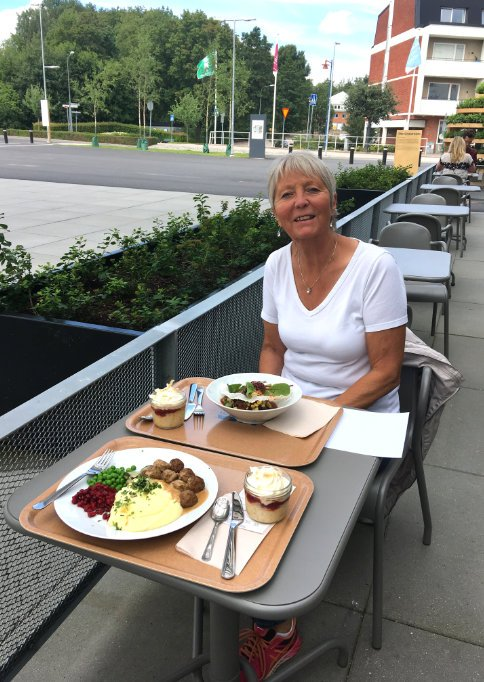 Köttbullar-Essen