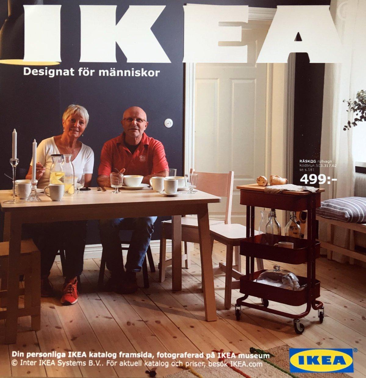 Wir auf dem IKEA Katalog-Titel
