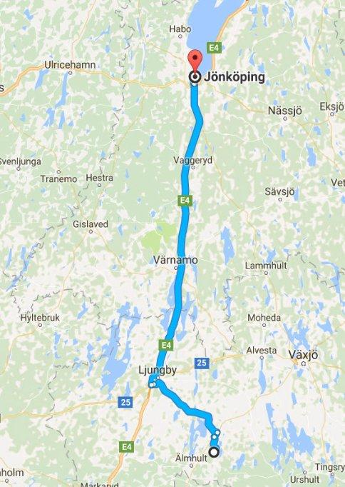 Jönköping - Älmhult