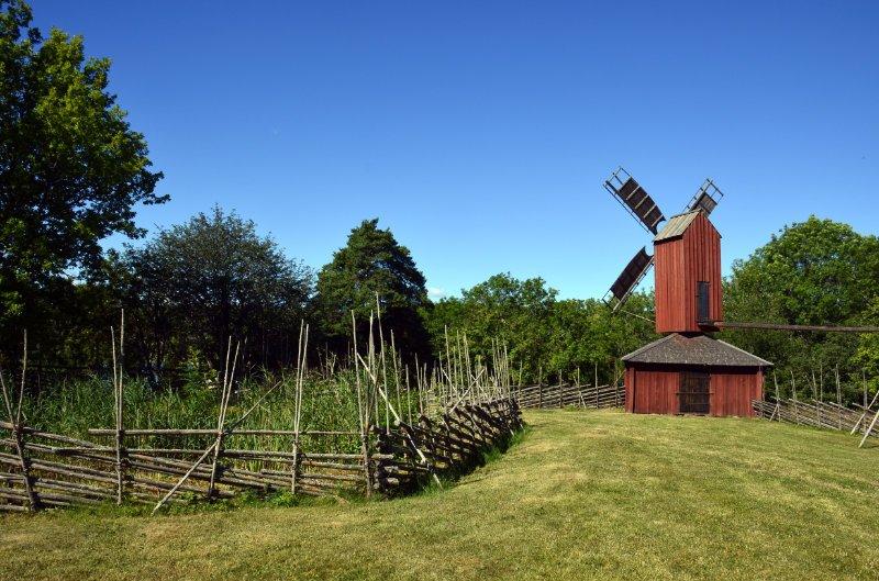 Mühle im Museumsdorf