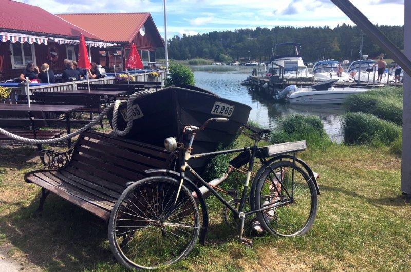 Stillleben am Sviken Hafen