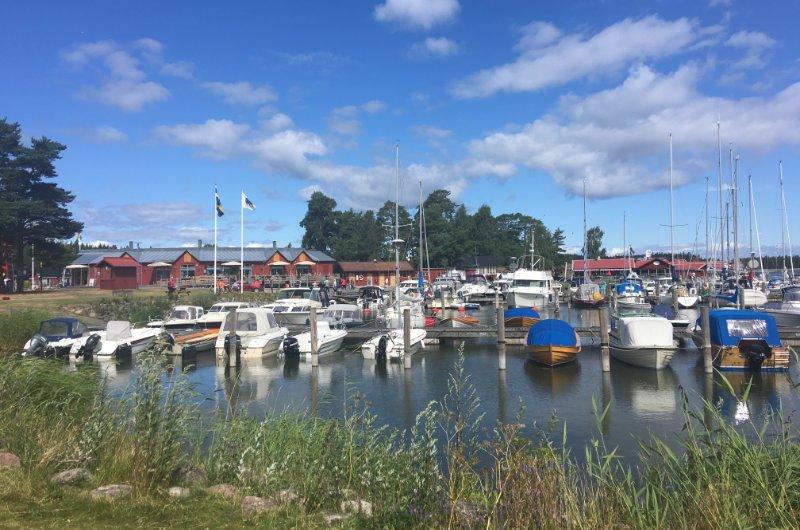 Der Hafen von Sviken