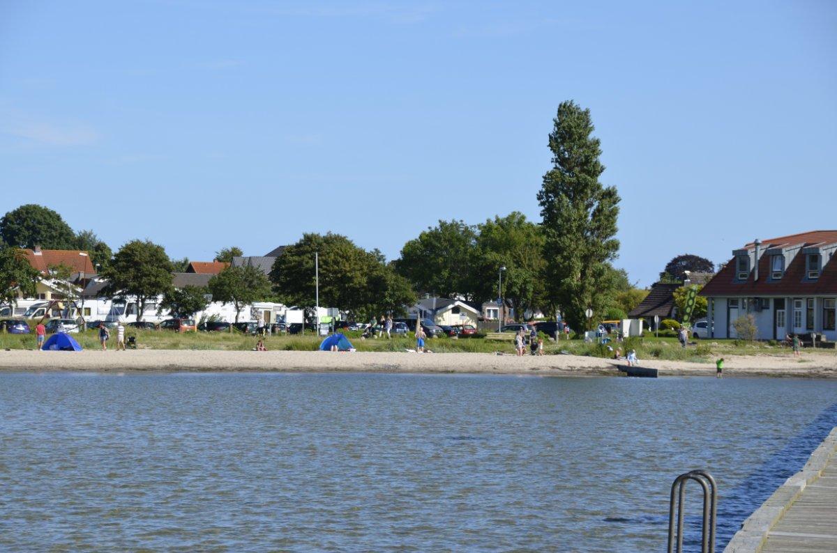 Strand und Stellplatz Wackerballig