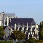 Beauvais Stadtsilhouette