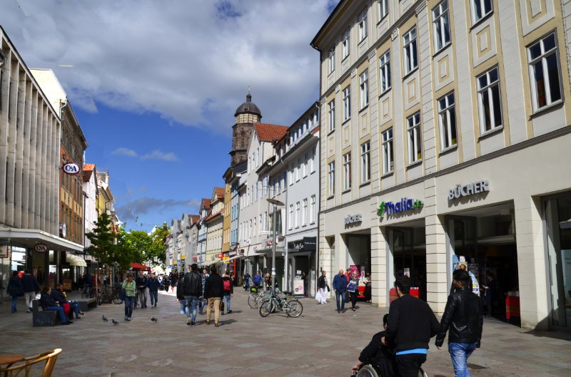 Göttingens Fußgängerzone