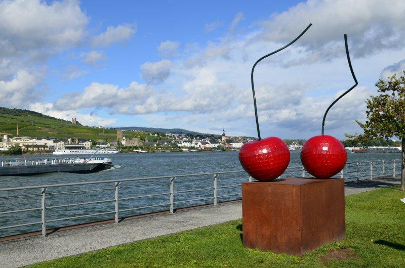 Kunst an der Bingener Rheinpromenade