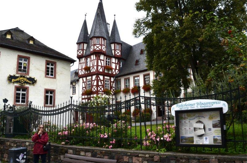 Stadtbild Rüdesheim