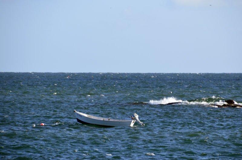 Das Meer vor unserem Stellplatz