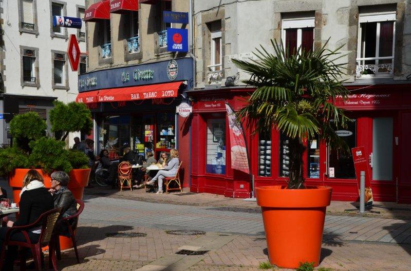 Französisches Flair im Zentrum