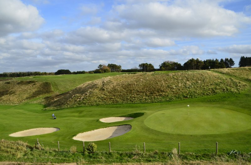 Golfplatz Éretrat