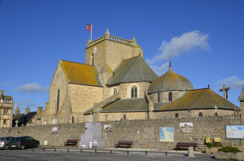 Die Kirche von Barfleur