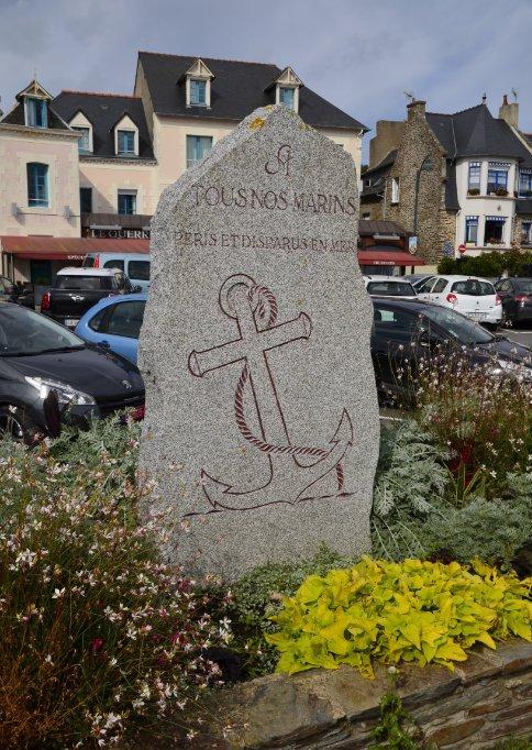 Gedenkstein für die auf See gebliebenen