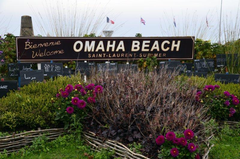 Omaha Beach Mahnmal