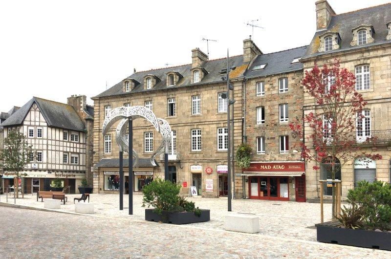 Paimpol Marktplatz