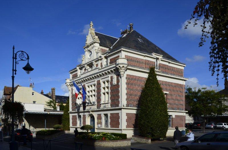 Rathaus von Villers-sur-Mer