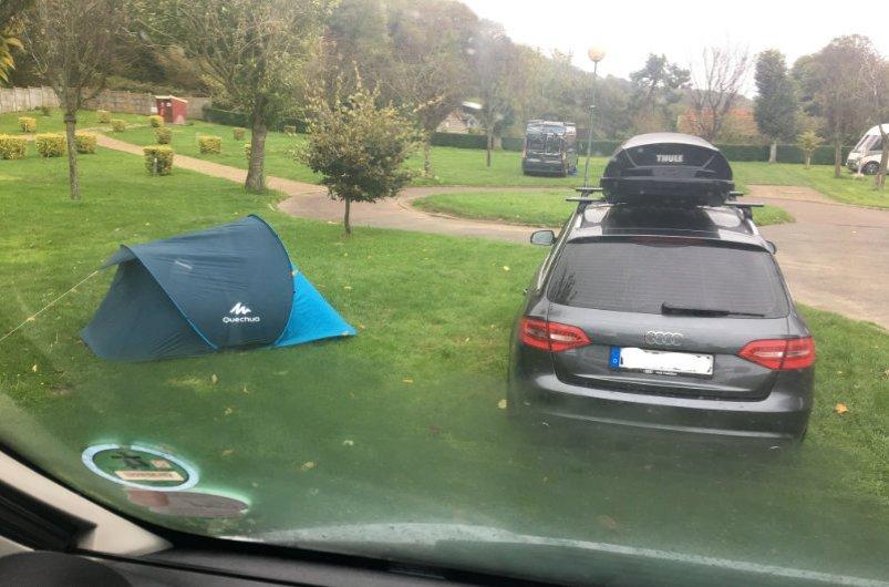 Unsere Campingplatz Nachbarn