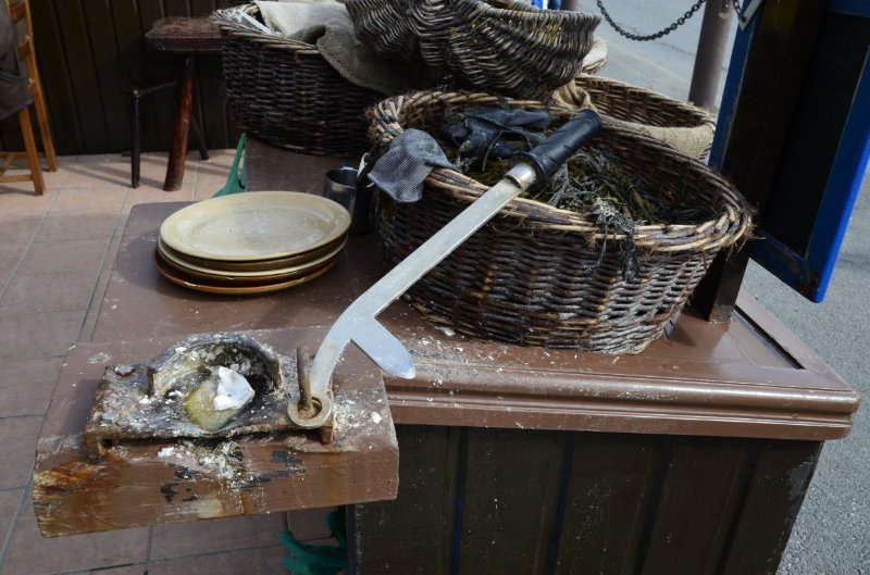 Werkzeug zum Öffnen von Austern