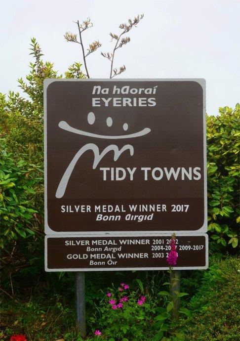 """Auch Eyeries eine """"Tidy Town"""""""