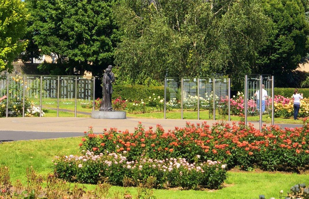 Der Rosengarten in Tralee