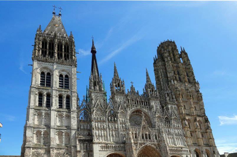 """Rouen Kathedrale """"Notre Dame"""""""