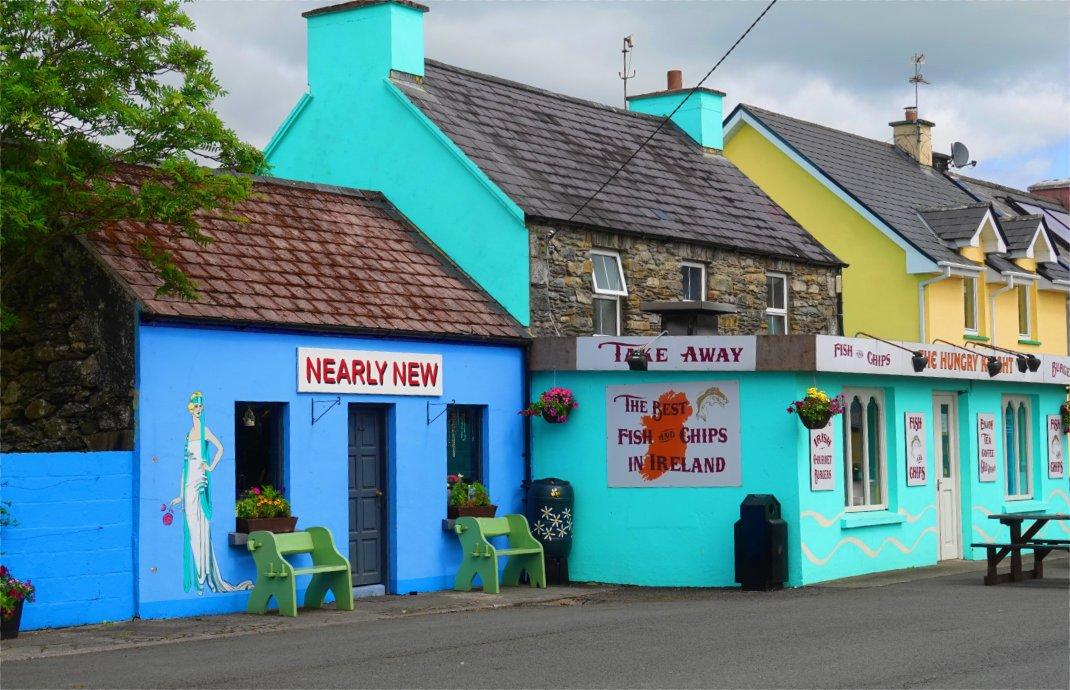 """Der """"Beste Fisch & Fisch Shop in Irland"""""""