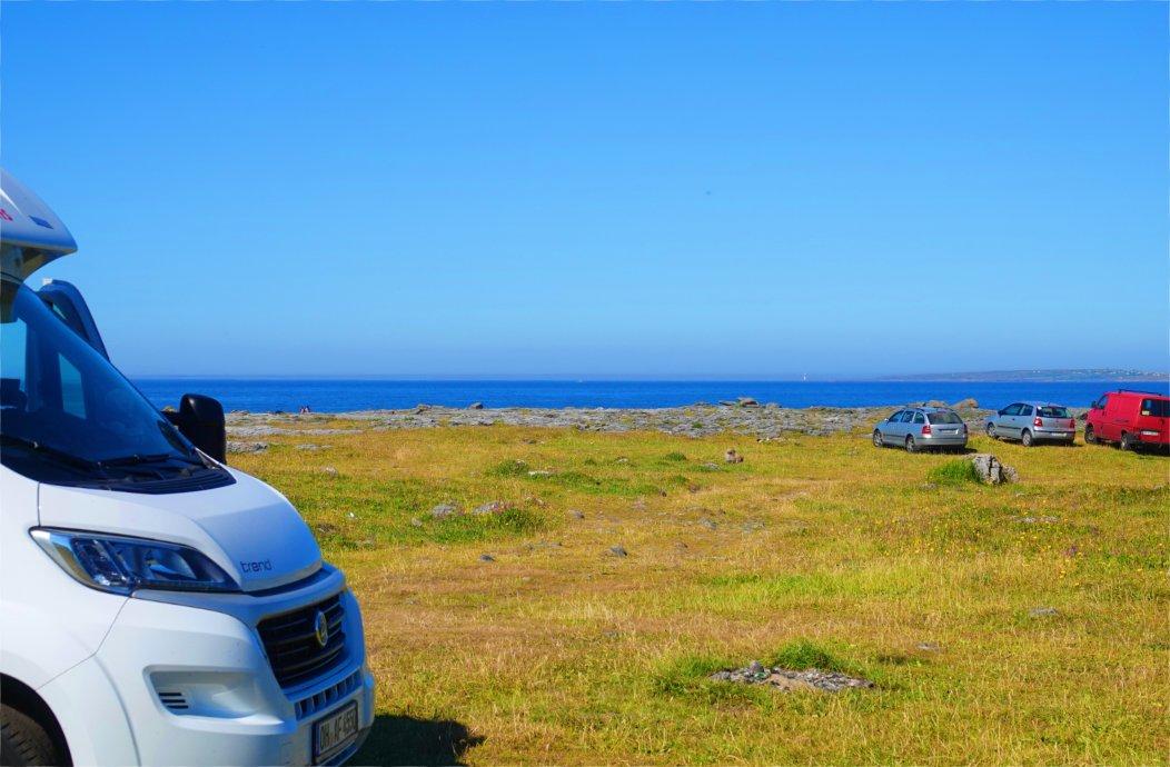 Wildcamping an der Burren Küste