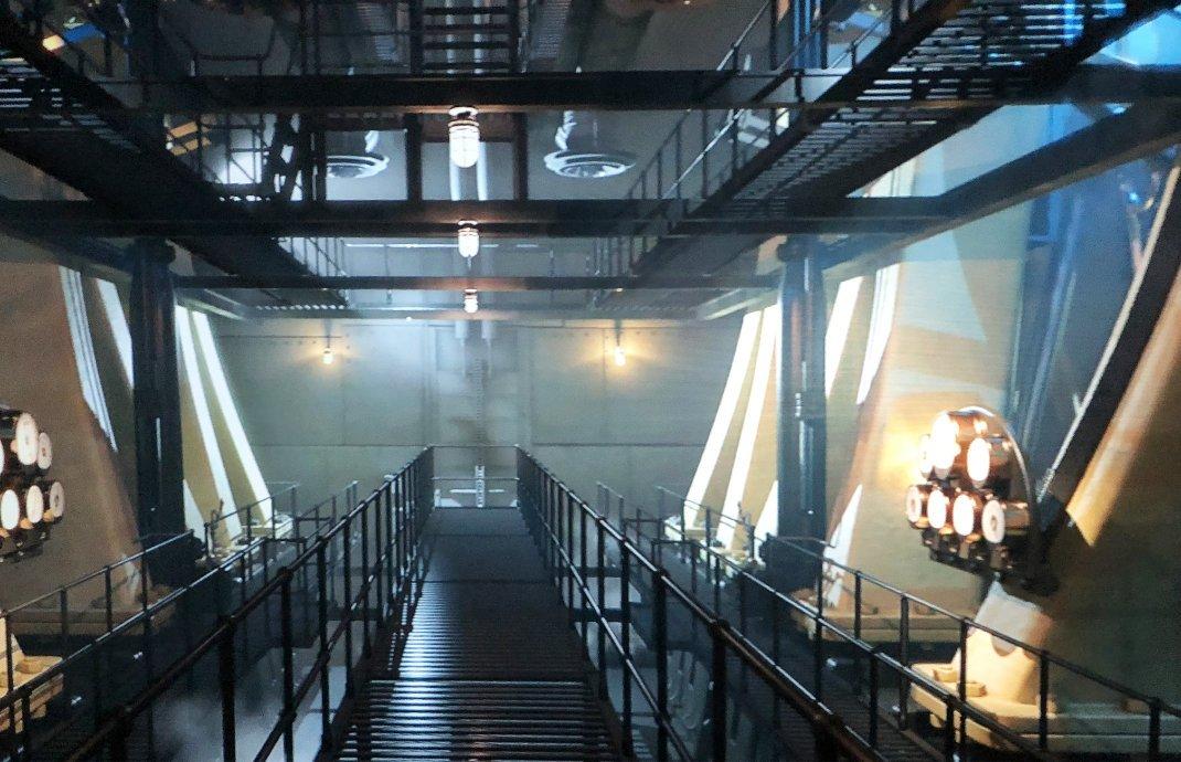 Der Maschinenraum der Titanic (wie er einmal aussah)