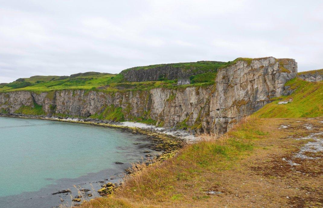 Steilküste - auch Kulisse für Games of Thrones
